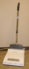 JanSan WideVac Upright Vacuum and Power Sweeper