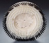 15in Nylon Showerfeed Carpet Shampoo Brush - fits 17in Machine