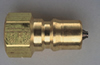 1/4in Male Quick Connector Brass